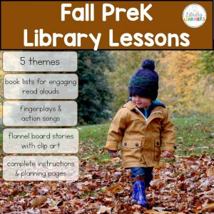 PreK Fall Library Lessons