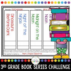 third grade chapter book series