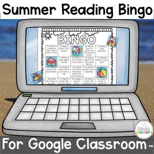 Summer Reading Bingo Digital