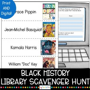 Black History Month Library Lessons